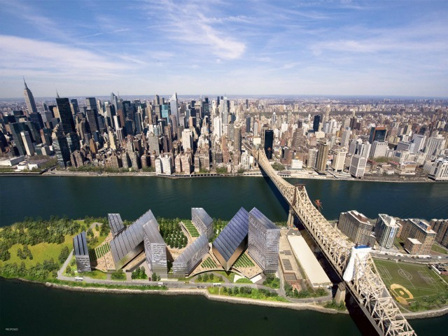 Cornel Tech Center on Roosevelt Island NYC featured in Kunstler's Eyesore of the Month February 2012