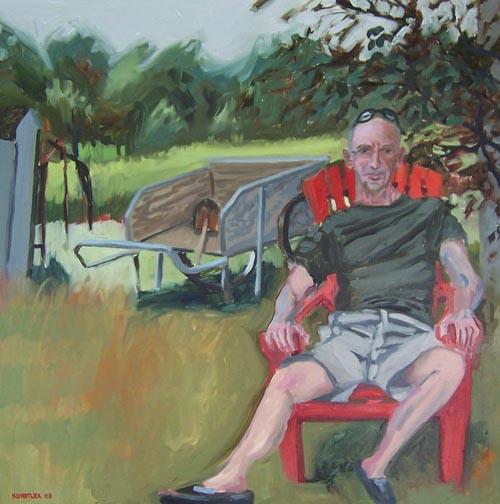 Bob Flynn portrait by JH Kunstler
