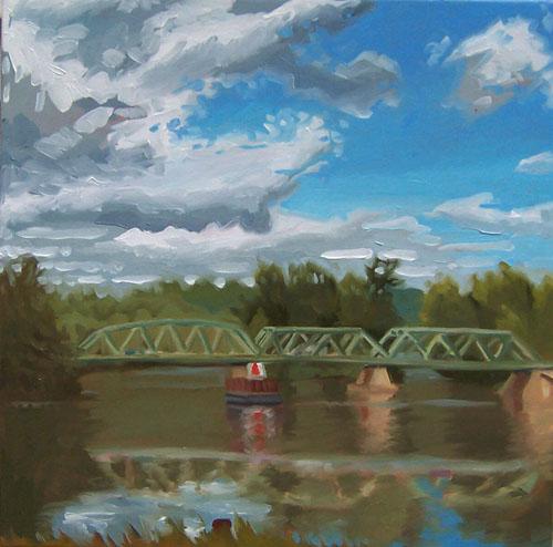 Northumberland Bridge, Hudson River, Summer