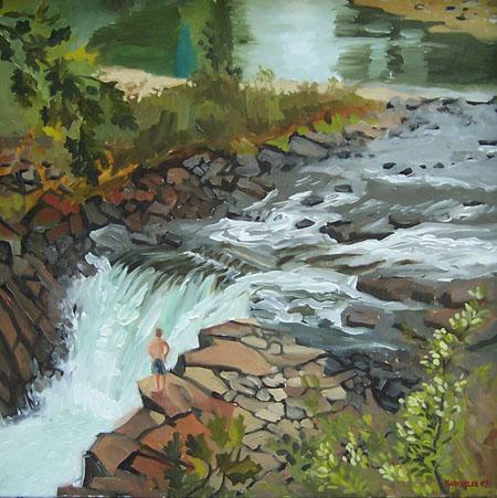 Falls of the Sacandaga River