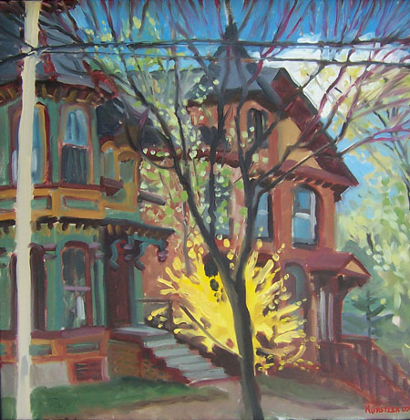 Walton Street Saratoga by JH Kunstler