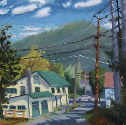 Chestertown Ny by jh kunstler