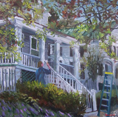 House Painter by J h kunstler