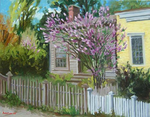 Lilac tree by J H Kunstler