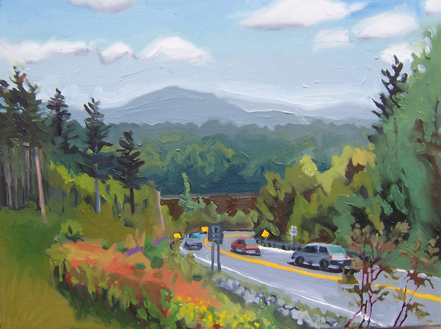 kunstler paintings 2011 Bacon Hill to East