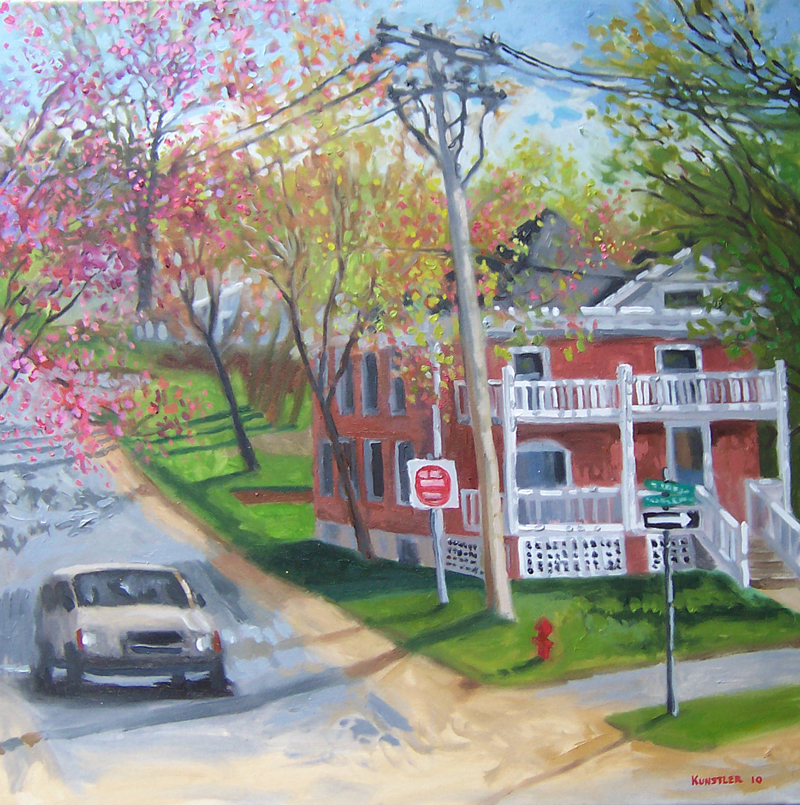 kunstler paintings 2011 Ballston Springtime