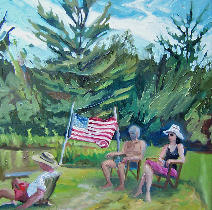 kunstler paintings 2011 Fourth of July