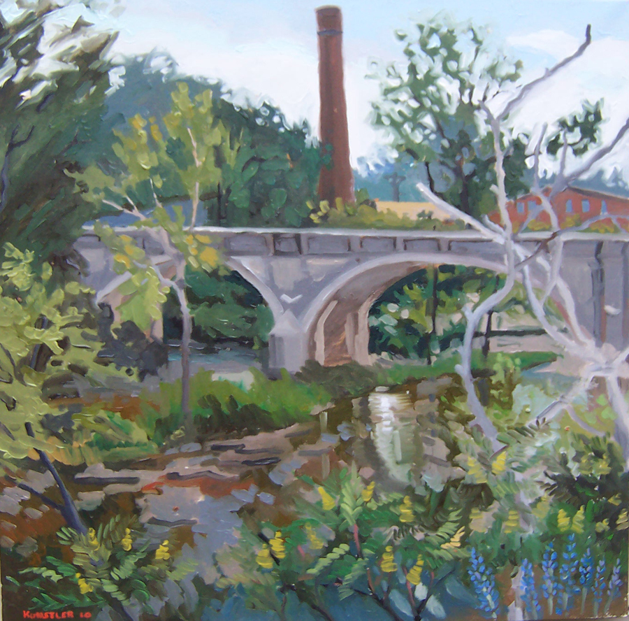 kunstler paintings 2011H &  V Plant Clarks Mills