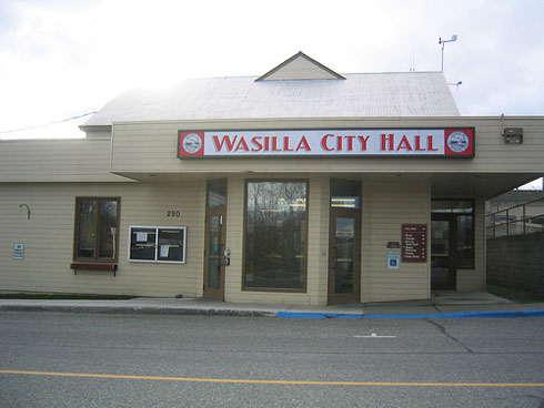 city hall, wassil, Alaska
