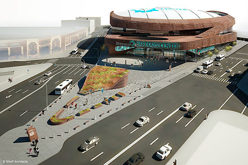 Barclays Center - eyesore of the month by james howard Kunstler at www.kunstler.com