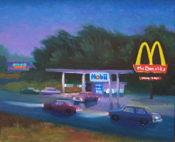 Homage to Hopper by james Howard Kunstler