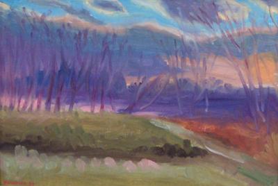 Hudson River Twilight 2
