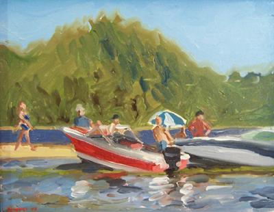 SAchroon Lake speedboats