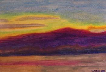 Schroon Lake Sunset 4