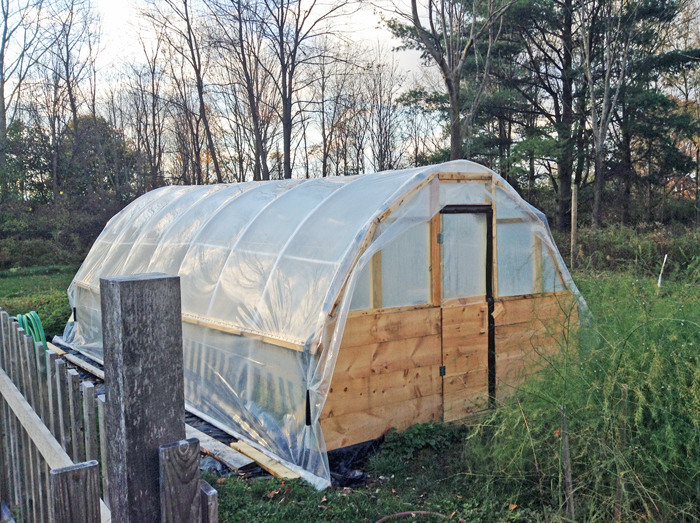 Hoop House Oct 2013