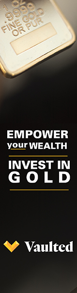 Vaulted Invest in Gold